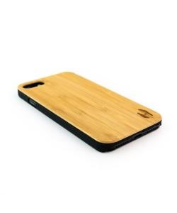 Echt houten hardcase hoesje iPhone 8 - Bamboe