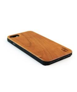 Echt houten hardcase hoesje iPhone SE 2020 - kersenhout