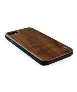 Echt houten hardcase hoesje iPhone SE 2020 - notenhout