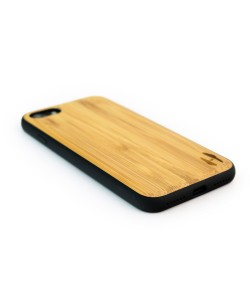 Houten TPU case, iPhone 8 - Bamboe