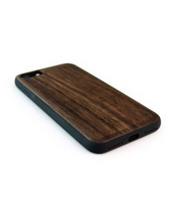 Houten TPU case, iPhone 8 - Padouk