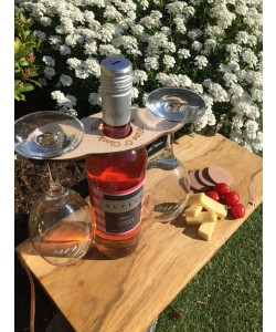 Hoentjen Creatie, Houten wijn houder wine o'clock