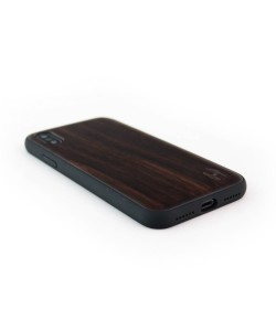 Houten TPU case, iPhone X / XS - Padouk