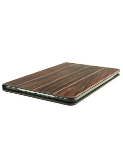 Volledig houten iPad MINI 4 bookcase - padouk