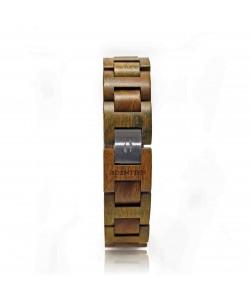 Hoentjen, houten armband - Groen palissander, 18mm