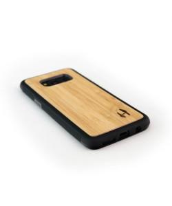 Houten TPU case, Samsung Galaxy S8 plus - Bamboe