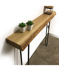 Moderne eiken houten sidetable