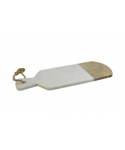 Houten/Marmeren Paddleboard Wit