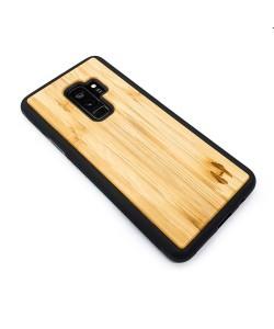 Houten TPU case, Samsung Galaxy S9+ - Bamboe