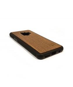 Houten TPU case, Samsung Galaxy S9 - Notenhout