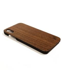 Echt houten hardcase hoesje iPhone Xs Max - Notenhout