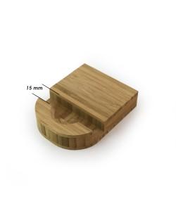 Houten standaard voor telefoon of tablet 15mm