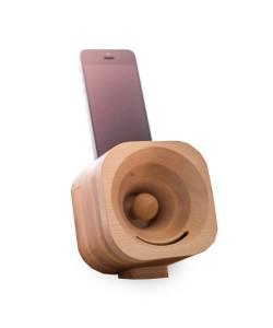 Hoentjen, houten speaker, Trobla  -esdoorn