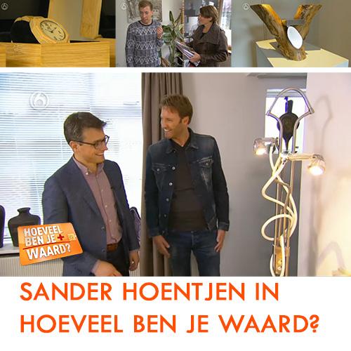 """Kunstenaar en ontwerper Sander Hoentjen in aflevering 7 van het TV programma """"Hoeveel ben je waard?"""""""